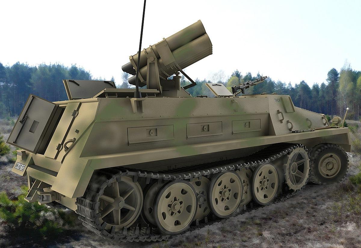 Revell-03264-15-cm-Panzerwerfer-42-auf-sWS Die REVELL-Neuheiten Herbst 2017 und 1. Quartal 2018