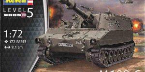 Panzerhaubitze M 109G in 1:72 von Revell (Art.Nr. 03305)