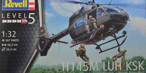 H 145M LUH KSK in 1:32 von Revell 04948