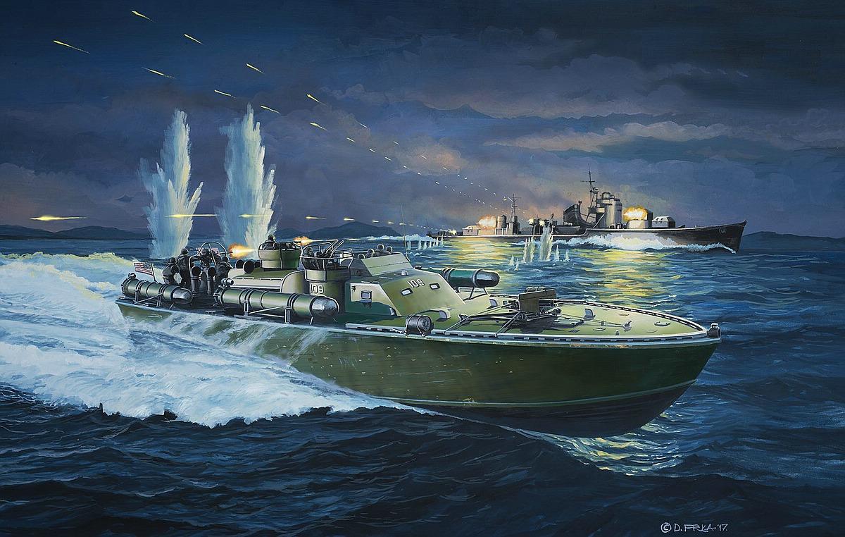 Revell-05147-Patrol-Torpedo-Boat-PT109 Die REVELL-Neuheiten Herbst 2017 und 1. Quartal 2018