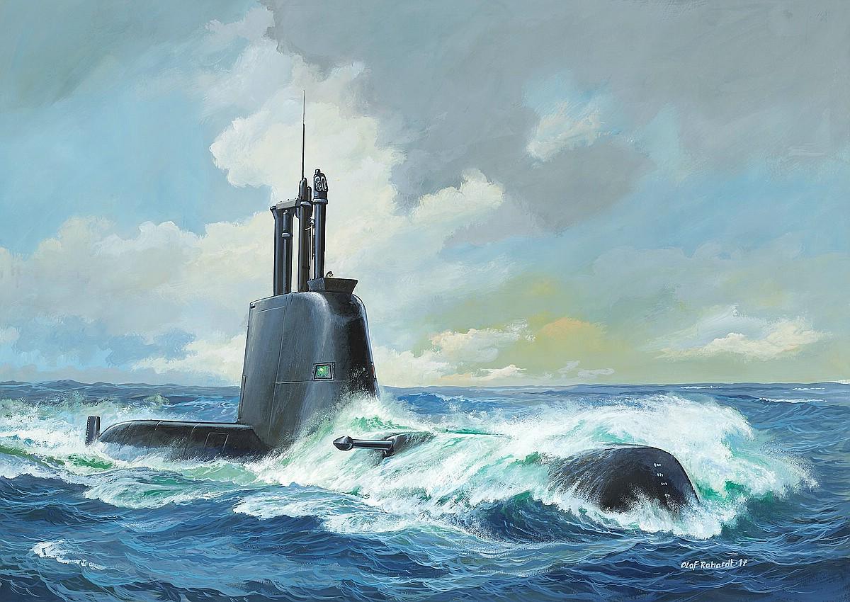 Revell-05153-Submarine-Class-214 Die REVELL-Neuheiten Herbst 2017 und 1. Quartal 2018