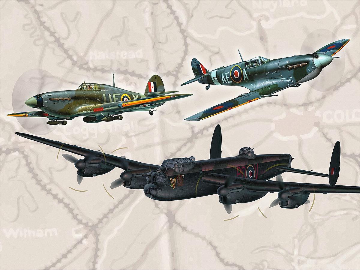 Revell-05696-100-Years-RAF-FlyingLegends Die REVELL-Neuheiten Herbst 2017 und 1. Quartal 2018