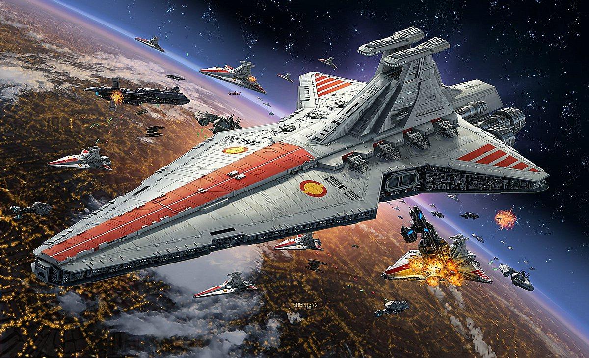 Revell-06053_Republic-Star-Destroyer Die REVELL-Neuheiten Herbst 2017 und 1. Quartal 2018