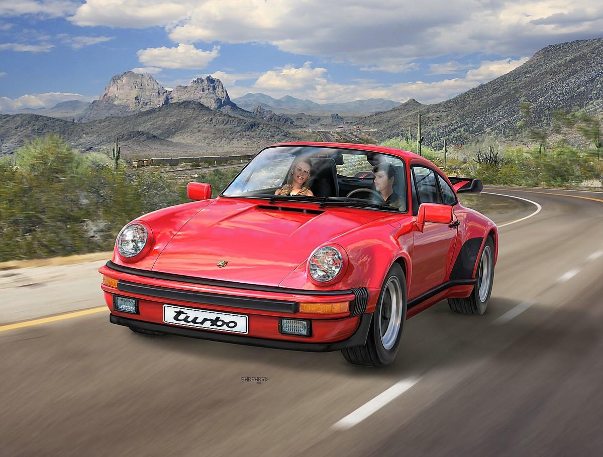 Revell-07179_Porsche-911-Turbo Die REVELL-Neuheiten Herbst 2017 und 1. Quartal 2018