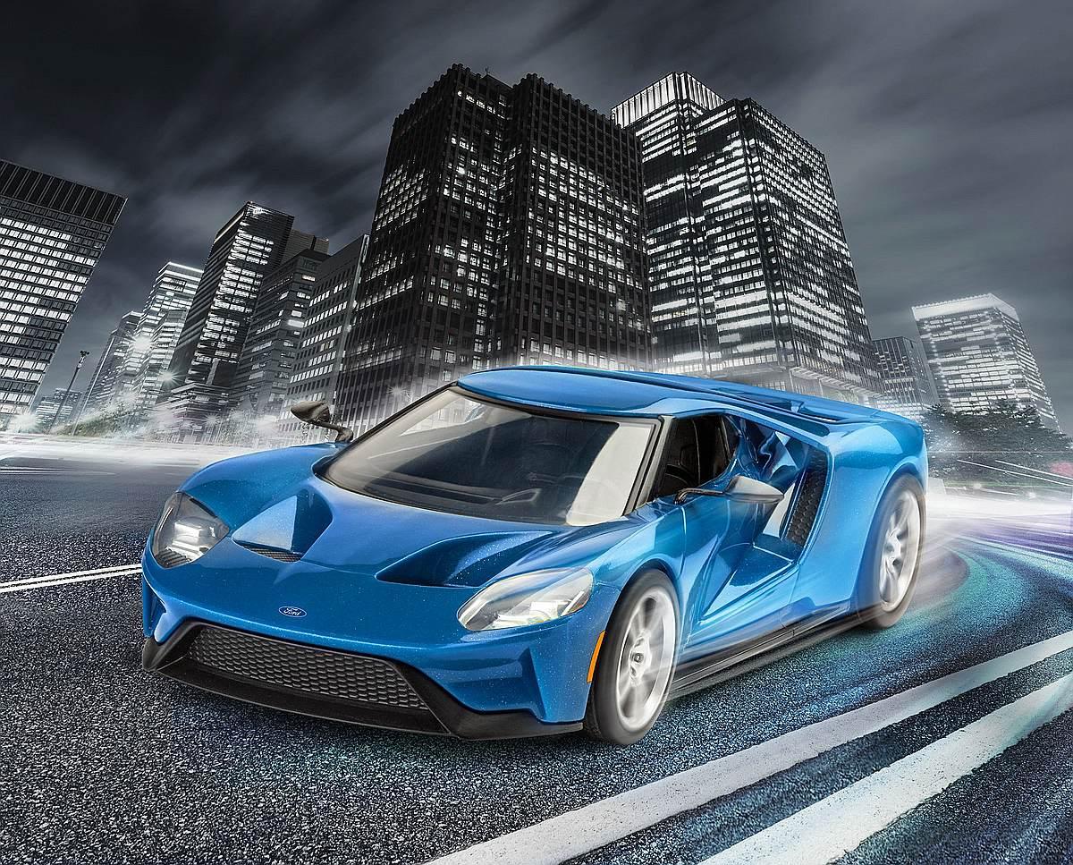 Revell-07678-2017-Ford-GT Die REVELL-Neuheiten Herbst 2017 und 1. Quartal 2018