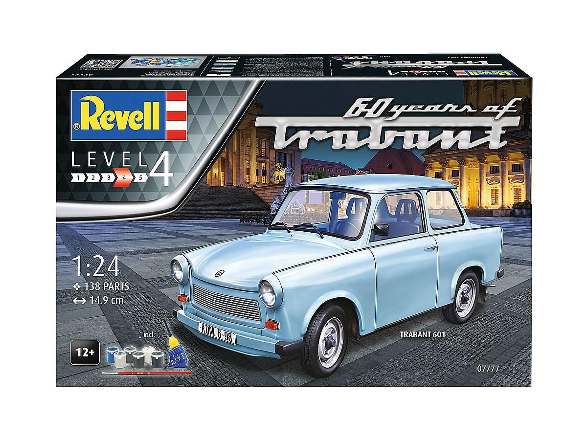 Revell-07777-Gift-Set-Trabant-601S-60th-years-of-Trabant Die REVELL-Neuheiten Herbst 2017 und 1. Quartal 2018