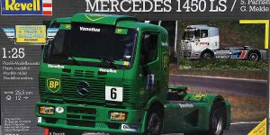 Kit Archäologie: Mercedes 1450 LS BP Racing Truck (Revell 1:25)