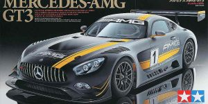 Mercedes AMG GT 3 in 1:24 Tamiya 24345