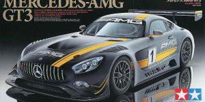 Mercedes AMG GT 3 in 1:24 Tamiya 24345