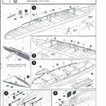 Zvezda-9060-Poltava-Anleitung-3-150x150 Schlachtschiff POLTAVA in 1:350 von Zvezda 9060