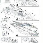 Zvezda-9060-Poltava-Anleitung-5-150x150 Schlachtschiff POLTAVA in 1:350 von Zvezda 9060