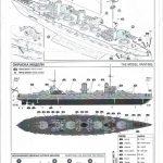 Zvezda-9060-Poltava-Anleitung-8-150x150 Schlachtschiff POLTAVA in 1:350 von Zvezda 9060