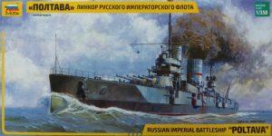 Schlachtschiff POLTAVA in 1:350 von Zvezda 9060