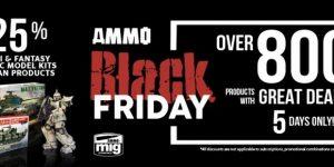 """""""Black Friday"""" mit starken Rabatten bei Ammo by Mig!"""