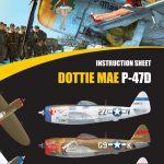 """Eduard_Dottie_Mae_02-150x150 P-47D """"Dottie Mae"""" - Eduard 1/32 (eduArt-Edition)"""