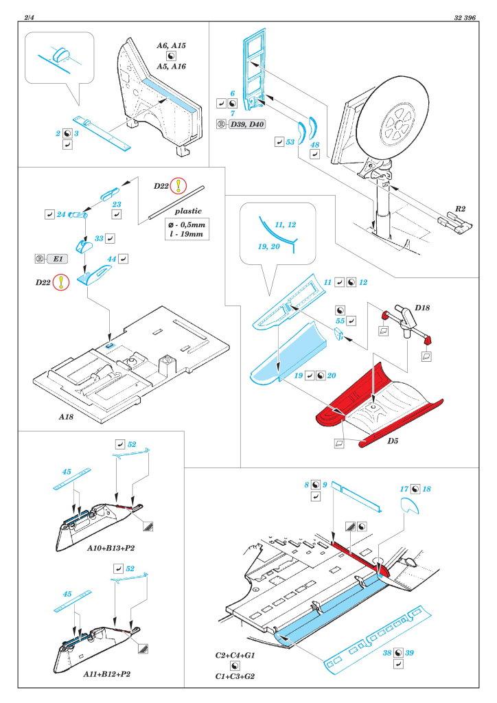 Eduard_Dottie_Mae_Update-Set_07 Upgrade-Set für die P-47D von Eduard / Hasegawa --- Eduard 1/32