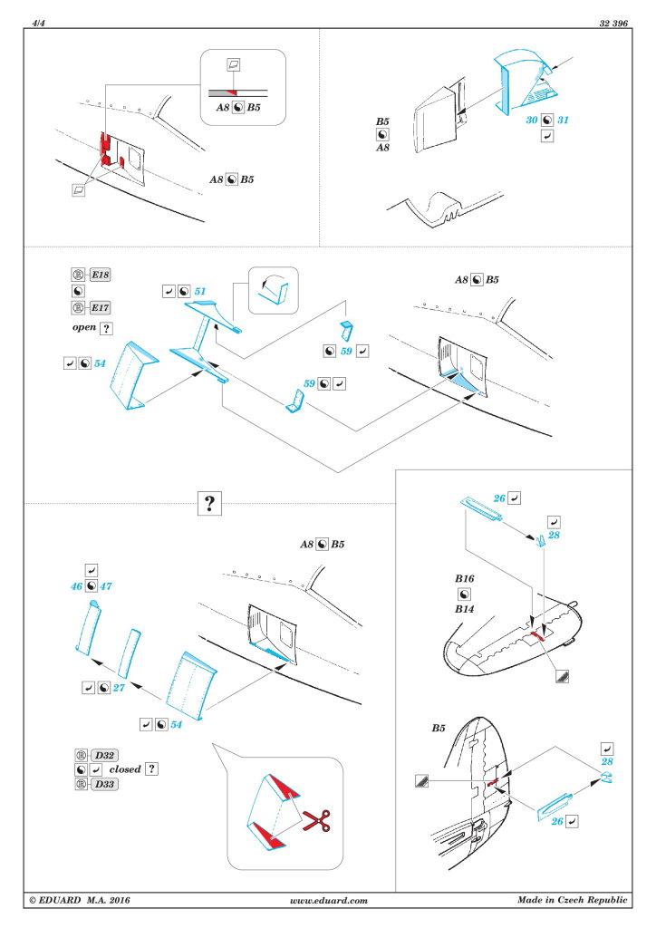 Eduard_Dottie_Mae_Update-Set_09 Upgrade-Set für die P-47D von Eduard / Hasegawa --- Eduard 1/32