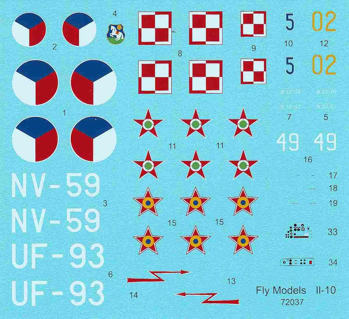 FLY-72037-Ilyushin-Il-10-Post-war-service-8 Ilyushin Il-10 im Maßstab 1:72 von FLY (72037 und 72038)