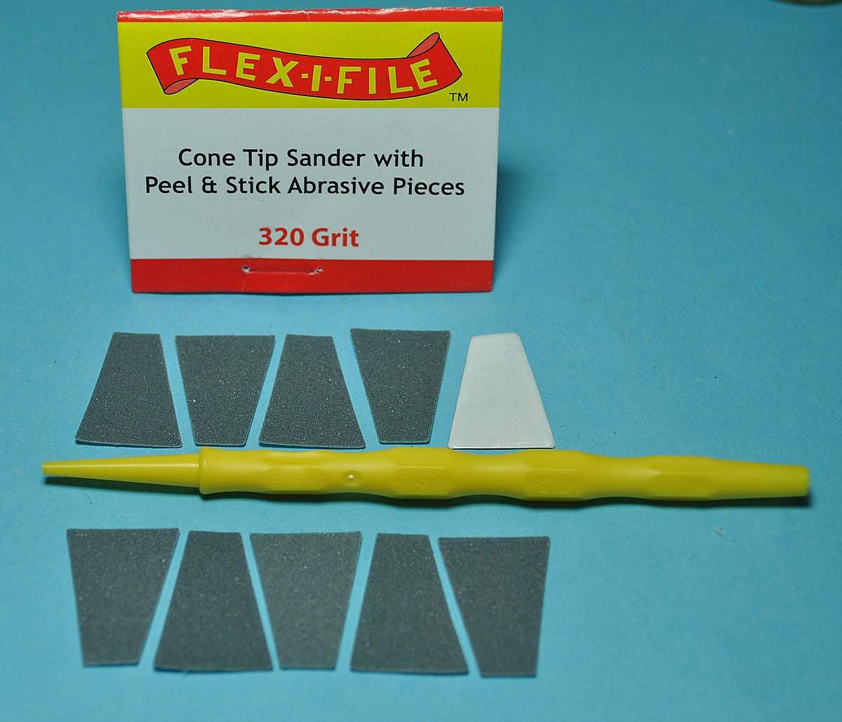 Flex-i-File-Cone-Tip-Sanders-2 Flex-i-File Cone Tip Sanders