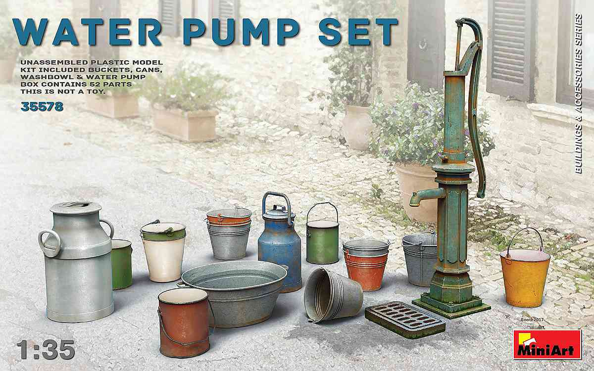 MiniArt-35578-Water-Pump-set-Boxart-1 Water Pump Set in 1:35 von MiniArt 35578