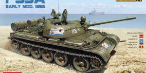 Neuer T-55A Mod. 1965 im Maßstab 1:35 von MiniArt (37016 und 37057)