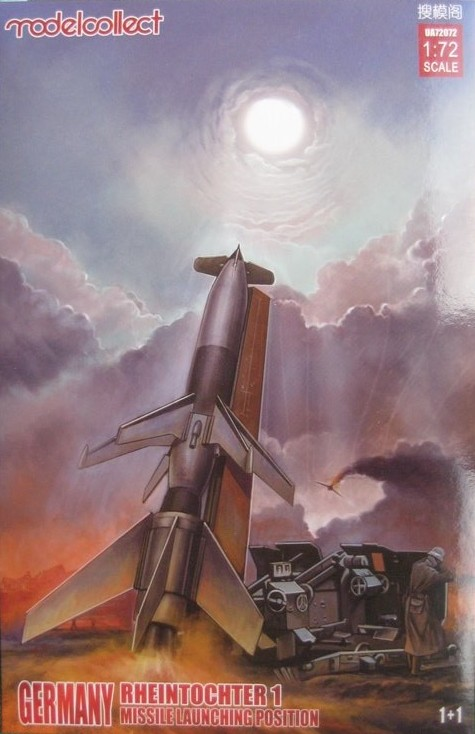 "ModelCollect-MC-US-72072-Rheintochter Fla Rakete ""Rheintochter"" im Maßstab 1:72 von ModelCollect MC-UA 72072"