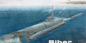 "Kleinst U-Boot ""Biber"" in 1:72 von Special Navy SN 72006"