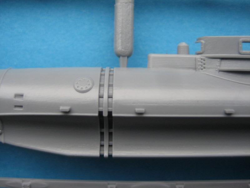 """Special-Navy-SN-72006-Biber-8 Kleinst U-Boot """"Biber"""" in 1:72 von Special Navy SN 72006"""