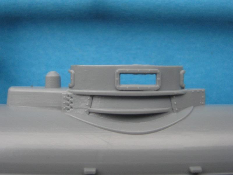 """Special-Navy-SN-72006-Biber-9 Kleinst U-Boot """"Biber"""" in 1:72 von Special Navy SN 72006"""