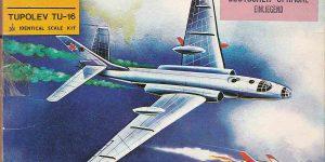 Kit-Archäologie – heute: Starfix Tupolev Tu-16 im Maßstab 1:200
