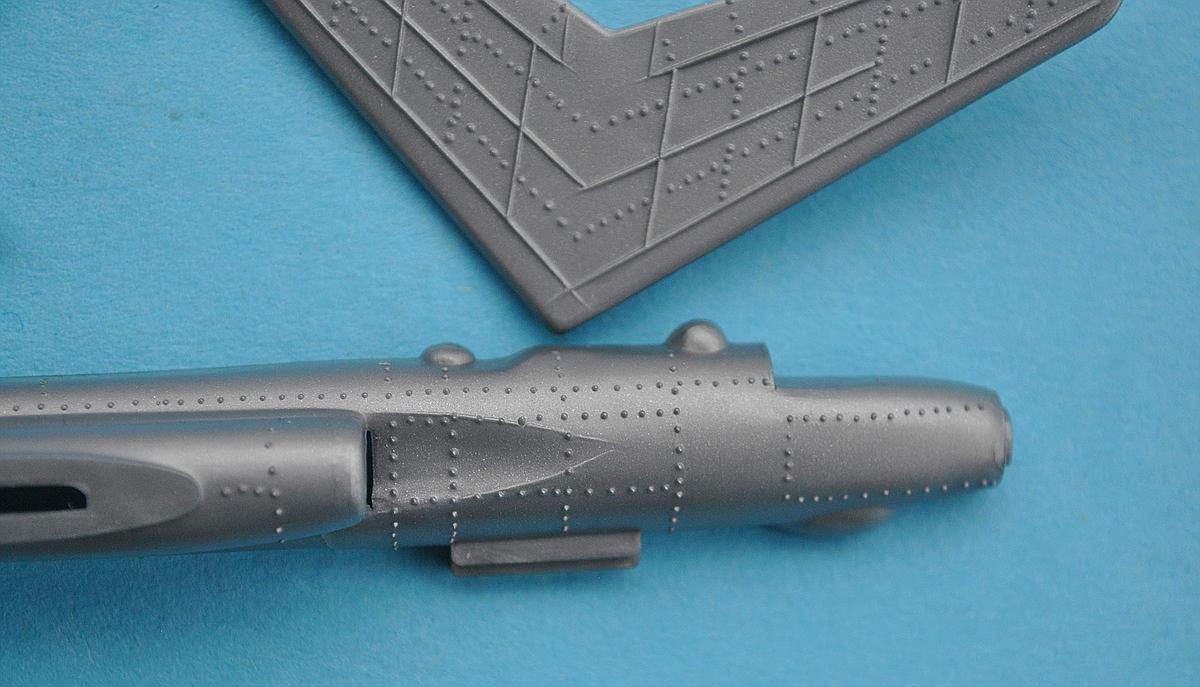 Starfix-Tupolev-TU-16-16 Kit-Archäologie - heute: Starfix Tupolev Tu-16 im Maßstab 1:200