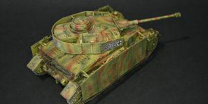 Panzer IV Ausf. H in 1:35 von Zvezda – der Baubericht