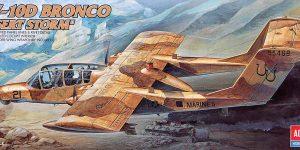 """OV 10 D Bronco """"Desert Storm"""" in 1:72 von Academy"""