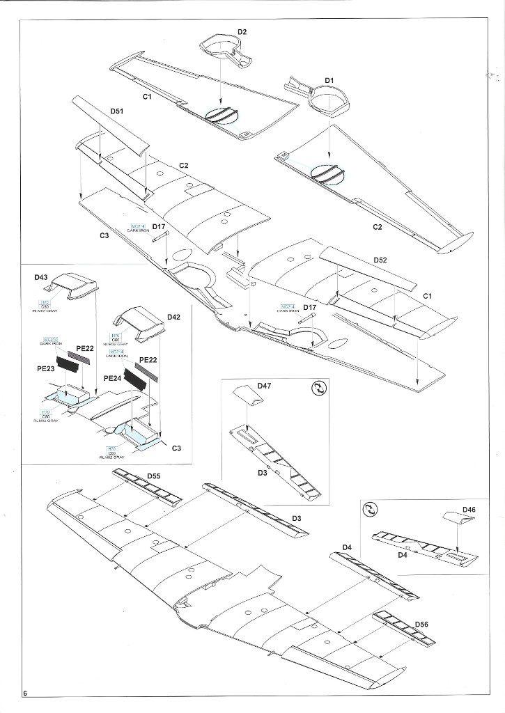 Anleitung06-2-725x1024 Bf 109 E-3 1:48 Eduard ProfiPACK (#8262)