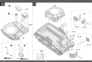 Anleitung09-1024-300x202 M31 U.S. Tank Recovery Vehicle 1:35 Takom #2088
