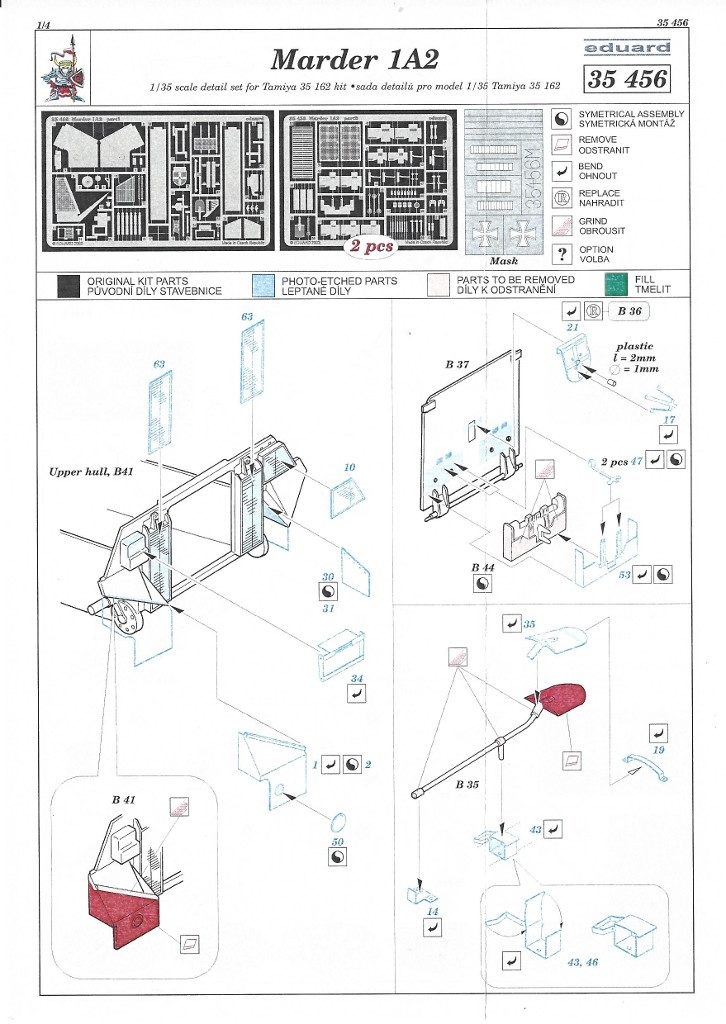 Anleitung1-726x1024 Marder 1A2 PE Set 1:35 Eduard (#35456)
