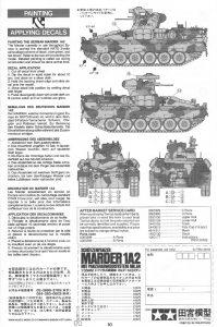 Anleitung10-1-199x300 Schützenpanzer Marder 1A2 1:35 Tamyia #35162