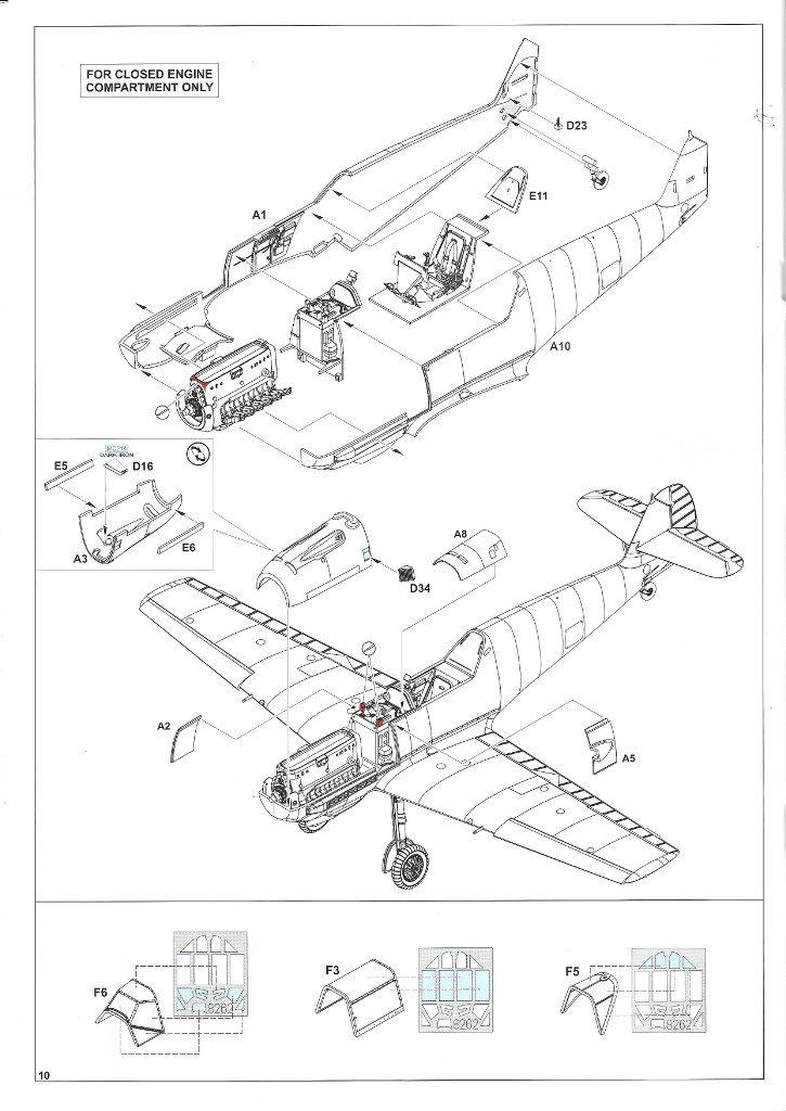Anleitung10-2-725x1024 Bf 109 E-3 1:48 Eduard ProfiPACK (#8262)