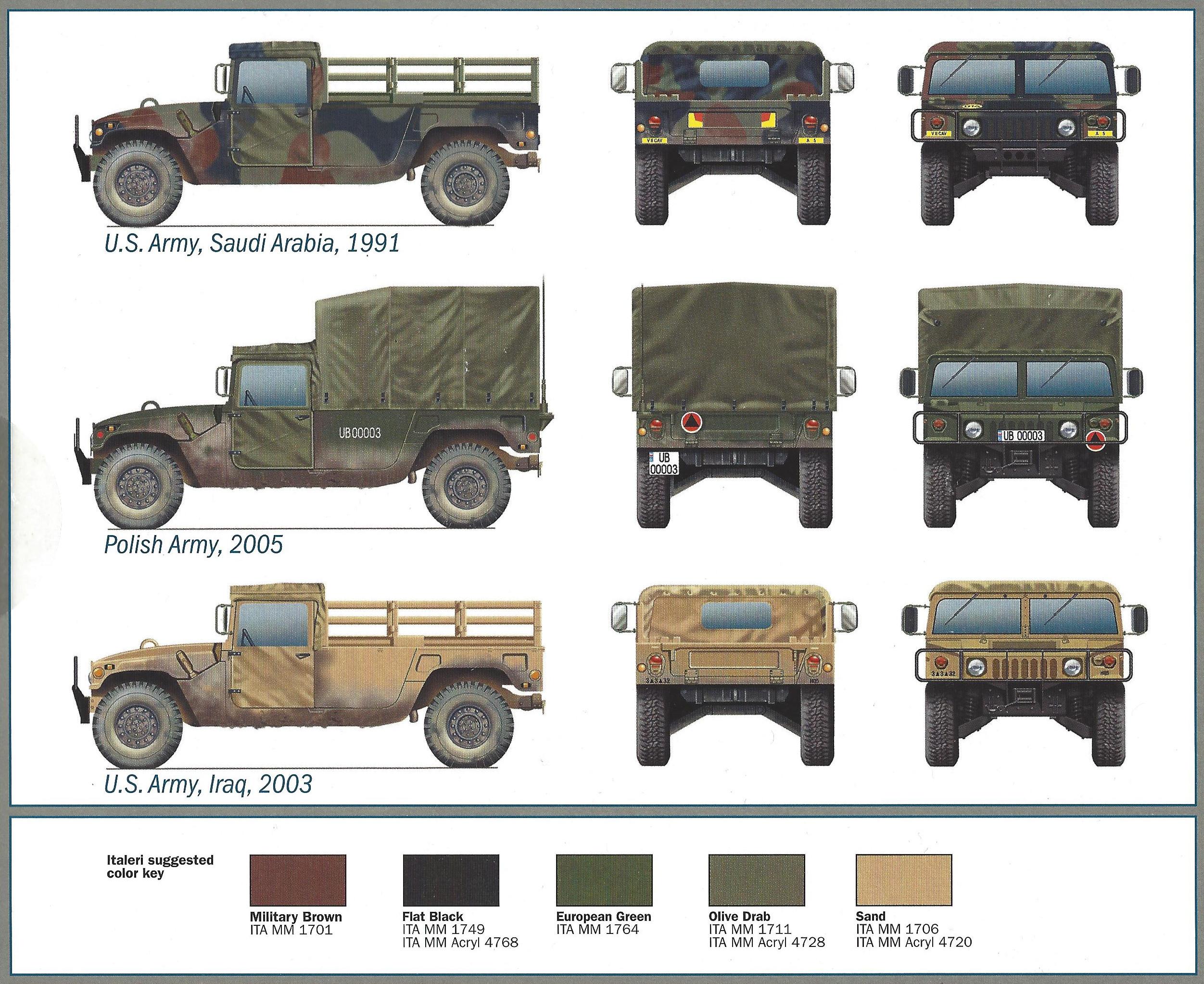 Anleitung11 M1097 A2 Cargo Carrier 1:35 Italeri #6484