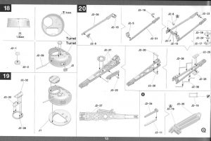 Anleitung14-1024-300x201 M31 U.S. Tank Recovery Vehicle 1:35 Takom #2088