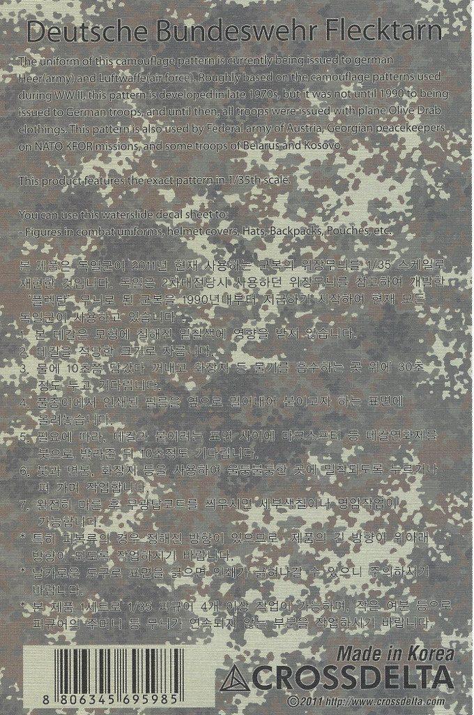 Anleitung2-2-680x1024 German Flecktarn Camouflage Decals 1:35 CrossDelta  #MIL35017