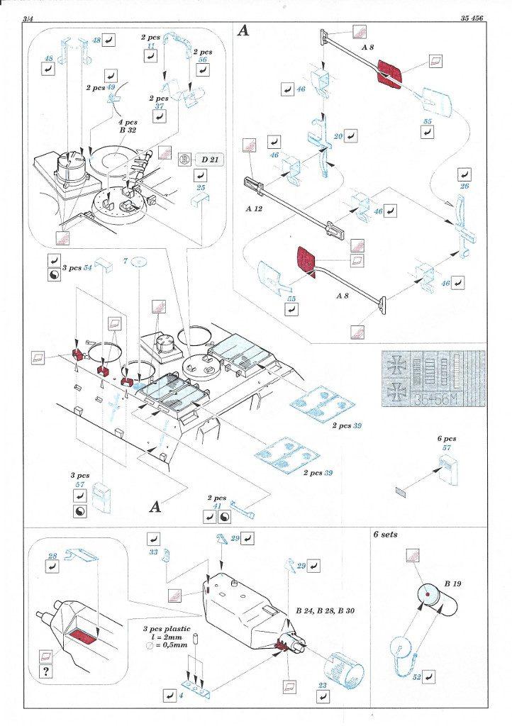 Anleitung3-722x1024 Marder 1A2 PE Set 1:35 Eduard (#35456)