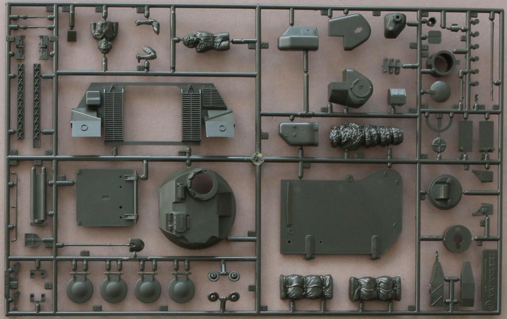 B-3 Schützenpanzer Marder 1A2 1:35 Tamyia #35162