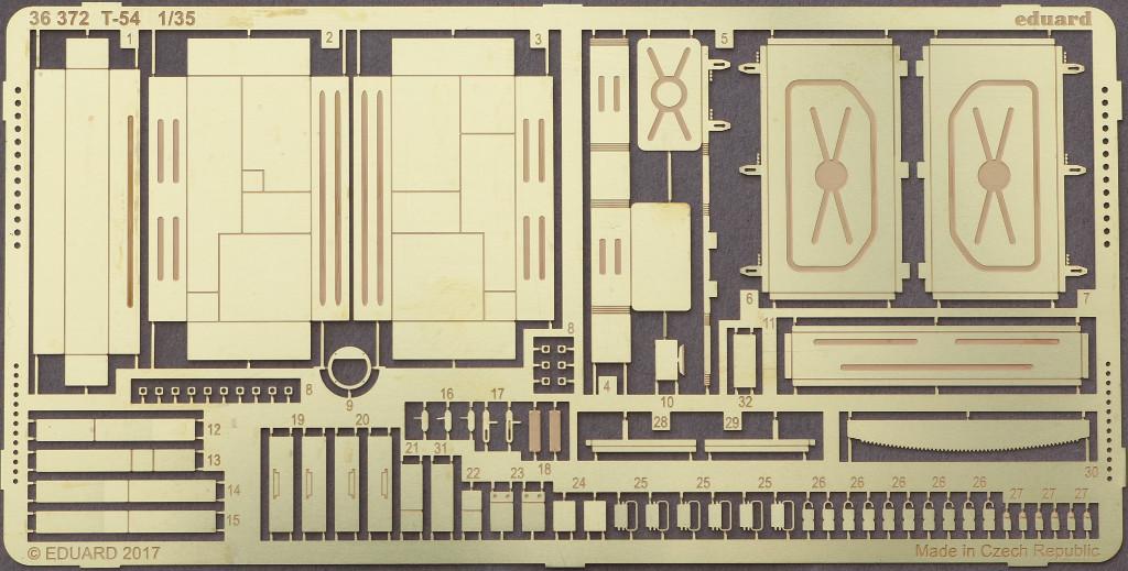 Bogen T-54 for Miniart Kit 1:35 Eduard #36372