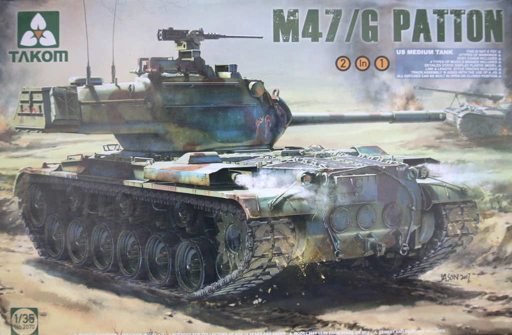 Box-4 Build Review: M47/G Takom #2070
