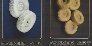 Road Wheels für HUMVEE 1:35 Panzer Art #RE35-075 und #RE35-212