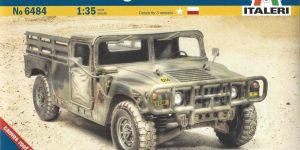 M1097 A2 Cargo Carrier 1:35 Italeri #6484