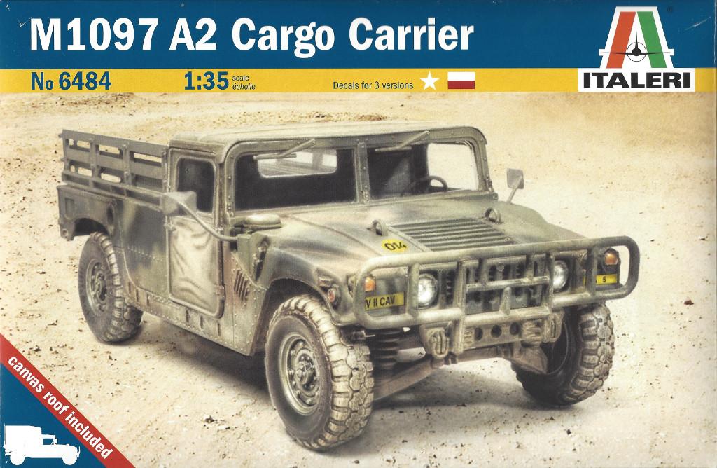 Boxart-1024 M1097 A2 Cargo Carrier 1:35 Italeri #6484