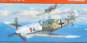 Bf 109 E-3 1:48 Eduard ProfiPACK (#8262)