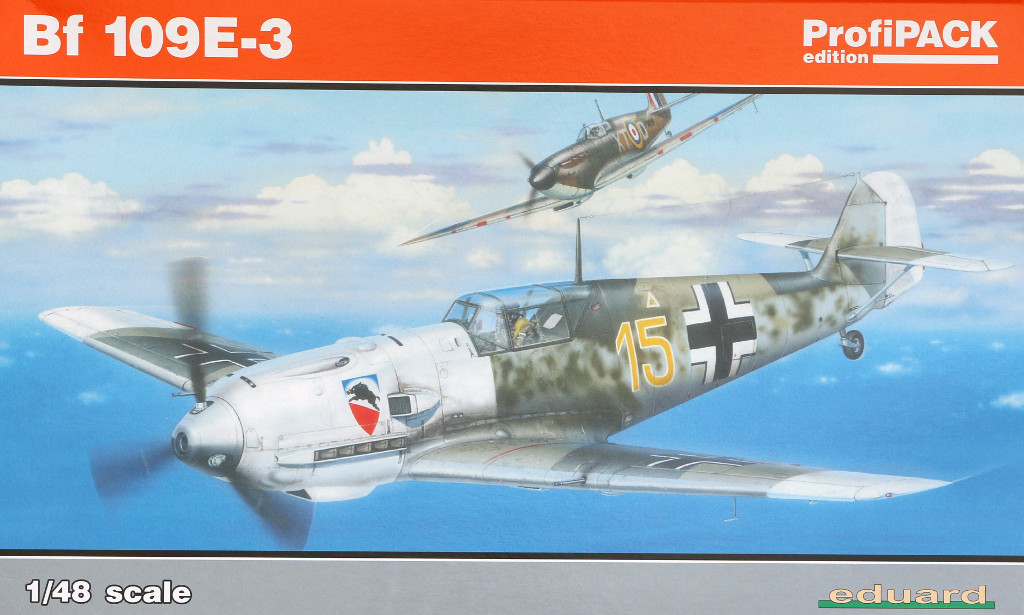 Boxart-2 Bf 109 E-3 1:48 Eduard ProfiPACK (#8262)